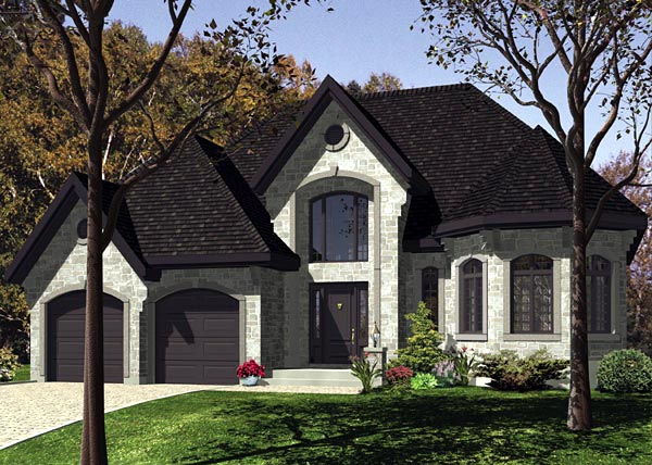Victorian House Plan 48206 Elevation