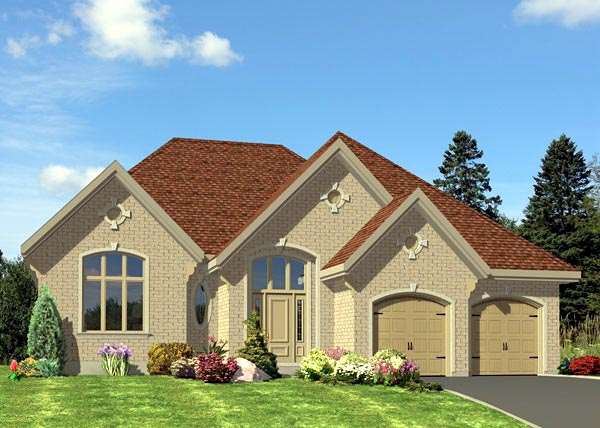 Tudor House Plan 48207 Elevation