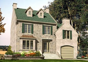 Traditional House Plan 48211 Elevation