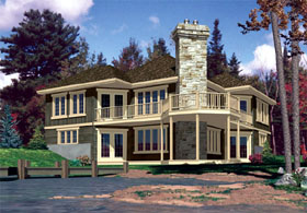 Country House Plan 48234 Elevation