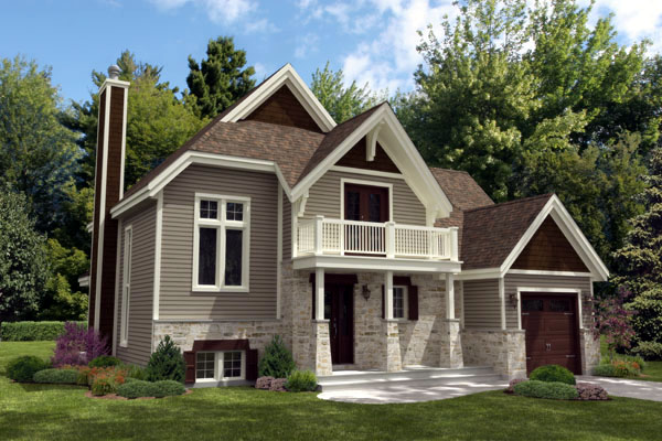 Cottage Country House Plan 48235 Elevation