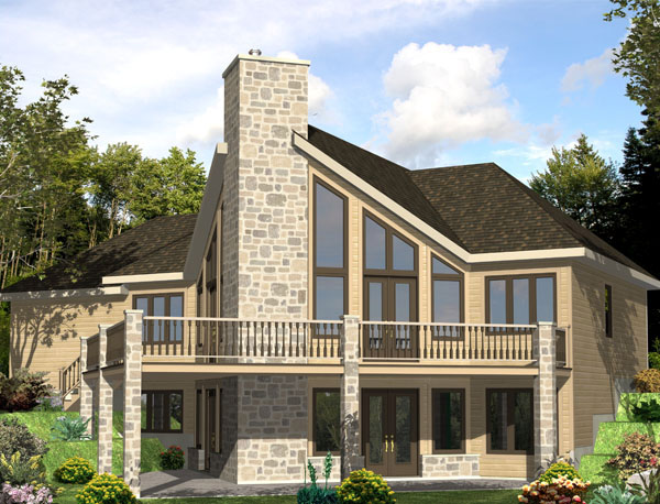 Country House Plan 48243 Elevation