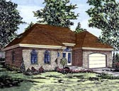 Plan Number 48254 - 1611 Square Feet