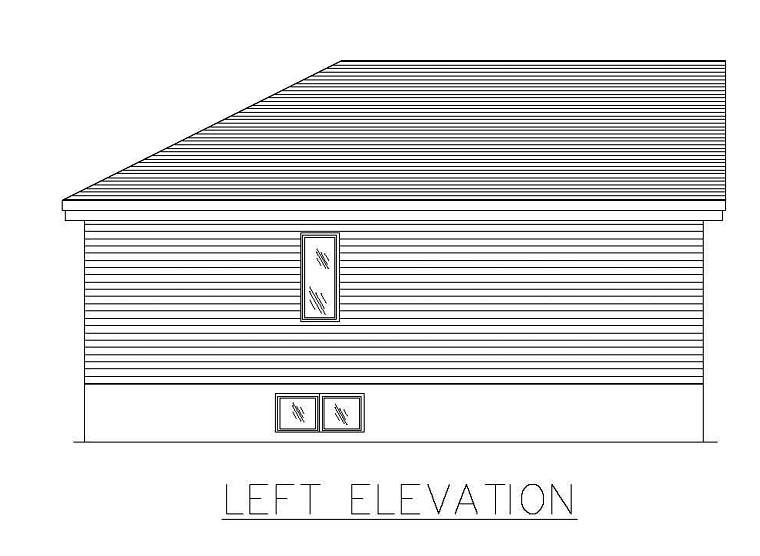 European House Plan 48269 with 2 Beds, 1 Baths Picture 1