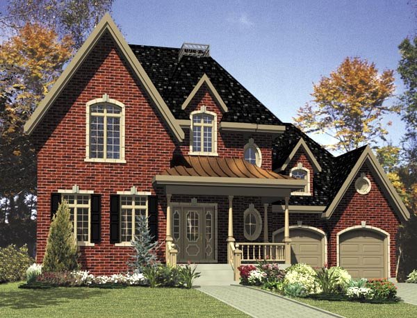 Southern House Plan 48285 Elevation