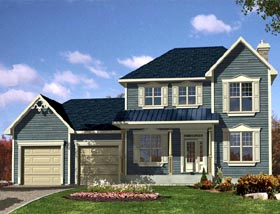 Southern House Plan 48287 Elevation