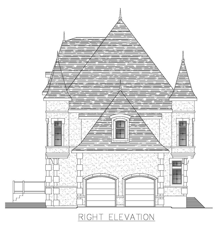 House Plan 48288 with 5 Beds, 5 Baths, 2 Car Garage Picture 2