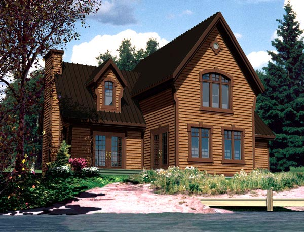 House Plan 48294 Elevation