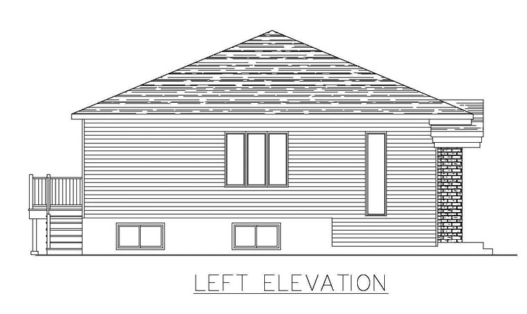 Multi-Family Plan 48296 with 8 Beds, 4 Baths Picture 1