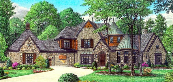 Country European House Plan 48310 Elevation