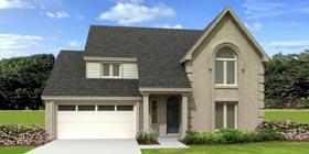 European Traditional House Plan 48312 Elevation