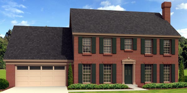 Traditional House Plan 48315 Elevation