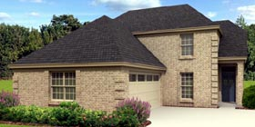 European Traditional House Plan 48316 Elevation
