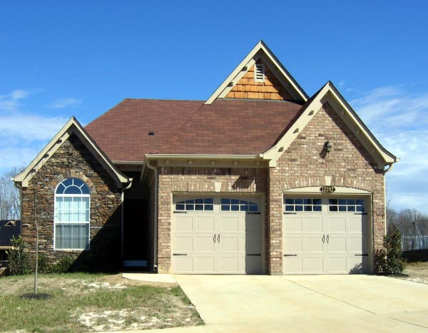 Country, European House Plan 48320 with 3 Beds, 2 Baths, 2 Car Garage Elevation
