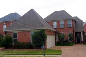 Traditional , European House Plan 48323 with 3 Beds, 3 Baths, 2 Car Garage Elevation