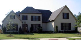 European , Country House Plan 48327 with 4 Beds, 5 Baths, 3 Car Garage Elevation