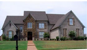 Country European House Plan 48331 Elevation