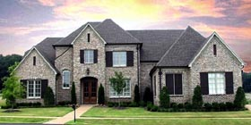Country European House Plan 48337 Elevation