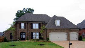 House Plan 48351 | European Style Plan with 3686 Sq Ft, 5 Bedrooms, 3 Bathrooms, 3 Car Garage Elevation