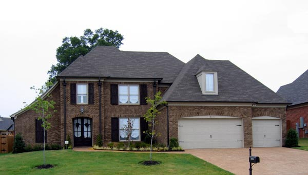 European House Plan 48351 with 5 Beds, 3 Baths, 3 Car Garage Elevation