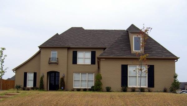 European House Plan 48353 Elevation