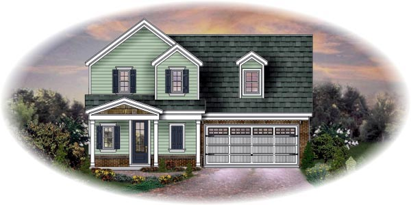 Traditional House Plan 48364 Elevation