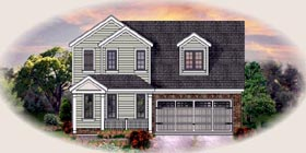 Traditional House Plan 48366 Elevation