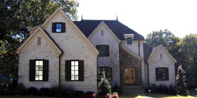 Country European House Plan 48385 Elevation