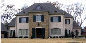 Country , European House Plan 48394 with 5 Beds, 5 Baths, 3 Car Garage Elevation