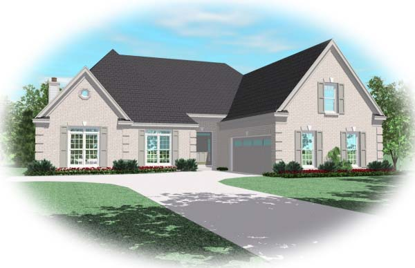 Traditional House Plan 48505 Elevation