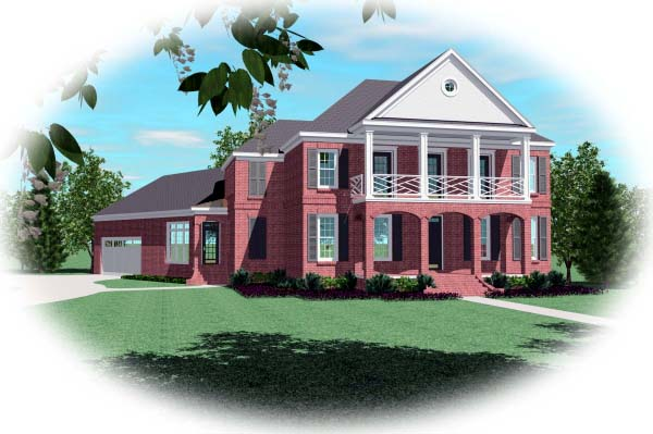 Traditional House Plan 48508 Elevation