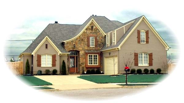 Tudor House Plan 48511 Elevation