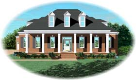 Cape Cod House Plan 48523 Elevation
