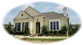 House Plan 48532 | European Style Plan with 2946 Sq Ft, 3 Bedrooms, 3 Bathrooms, 2 Car Garage Elevation
