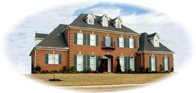 European Traditional House Plan 48547 Elevation