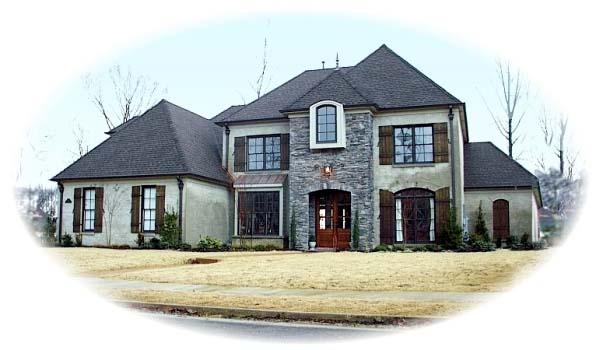Country European House Plan 48576 Elevation