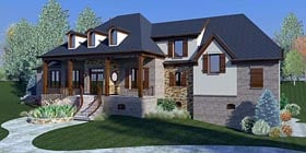 French Country House Plan 48590 Elevation
