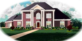 Traditional House Plan 48619 Elevation