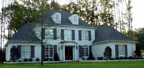 European Traditional House Plan 48627 Elevation