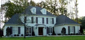 European Traditional House Plan 48628 Elevation