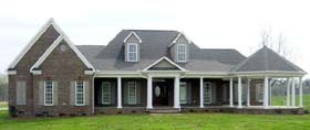 Country House Plan 48635 Elevation