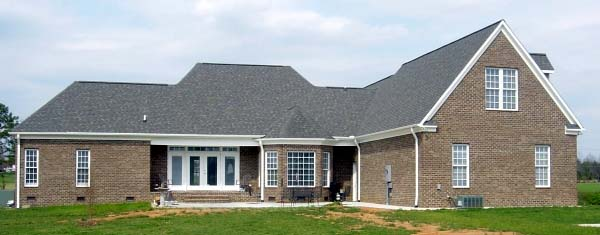 Country House Plan 48635 Rear Elevation