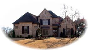 European Traditional House Plan 48653 Elevation