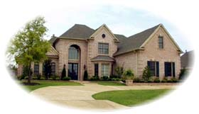 European Traditional House Plan 48658 Elevation