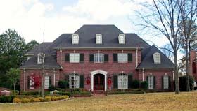 European House Plan 48672 with 4 Beds, 4 Baths, 3 Car Garage Elevation