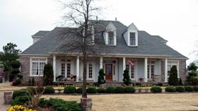 Colonial House Plan 48694 Elevation
