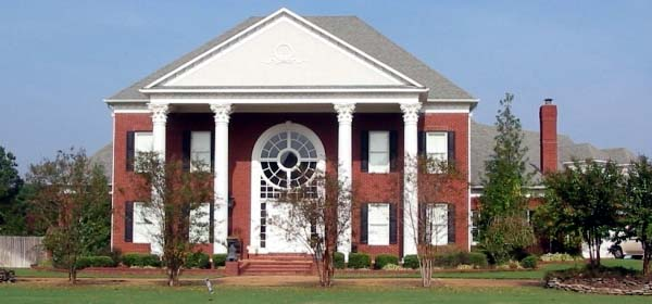 Greek Revival Southern House Plan 48705 Elevation
