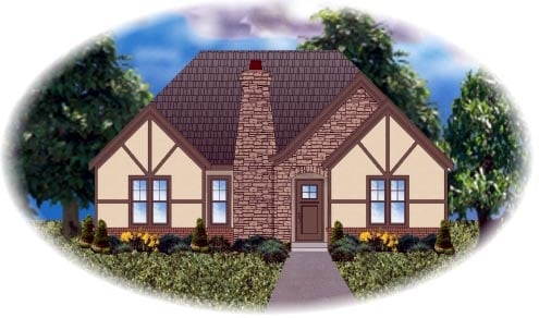 Traditional House Plan 48763 Elevation