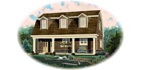 Country House Plan 48765 Elevation