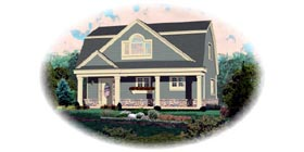Country House Plan 48766 Elevation